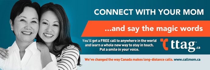 call mom sms marketing campaign banner by ttag systems